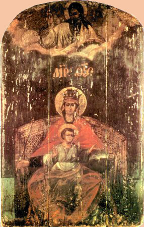 коломенская икона божьей матери: